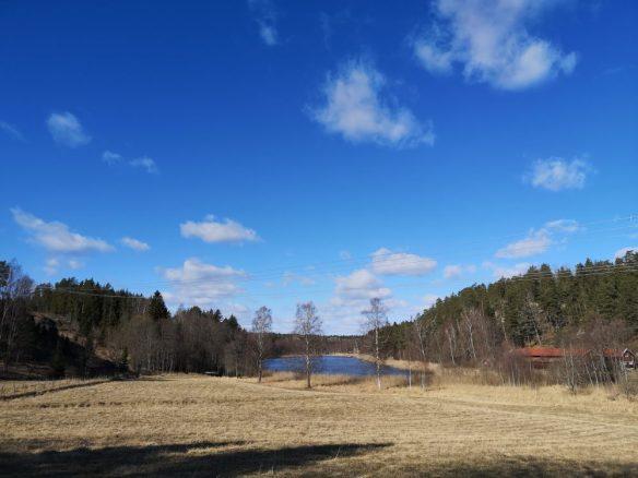 Storträsket och Gottsunda fornborg.