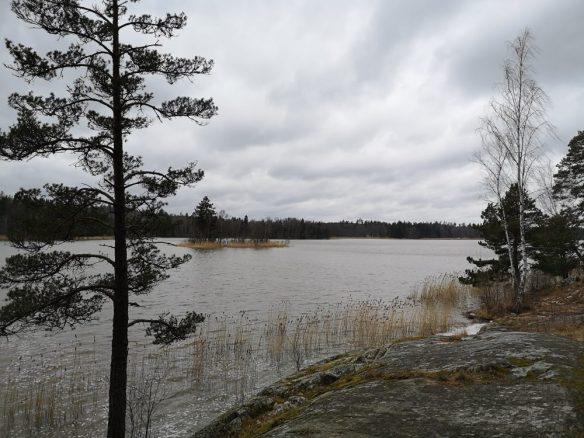 Garnsviken, Långhundraleden, Åkersberga