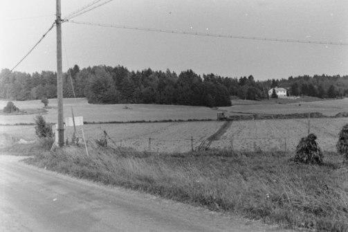 Krondiket med utsikt in mot Åkersberga