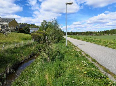 Smedbyån, Åkersberga
